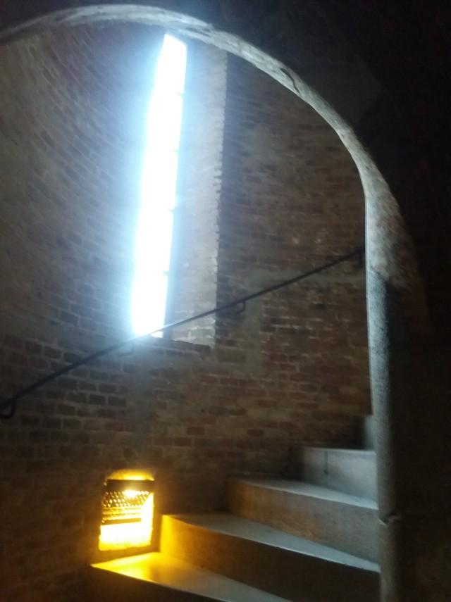 lépcső vármúzeum Esztergom Fehér torony