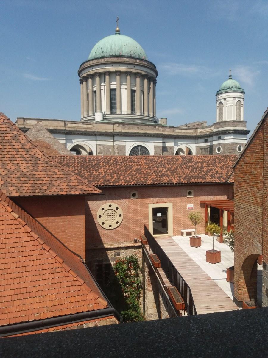Fehér torony Esztergom Vármúzeum reneszánsz terasz