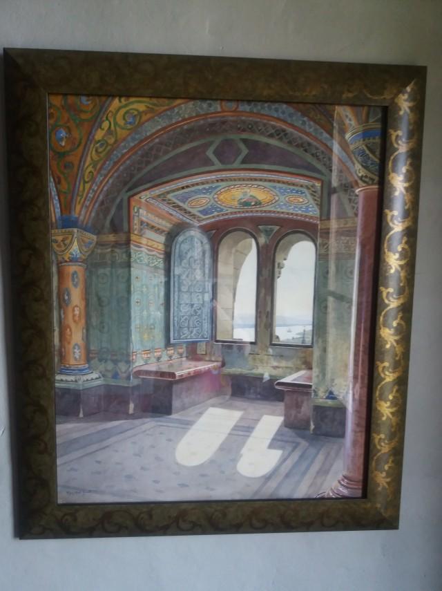 Szent István terem festmény az esztergomi Vármúzeumban