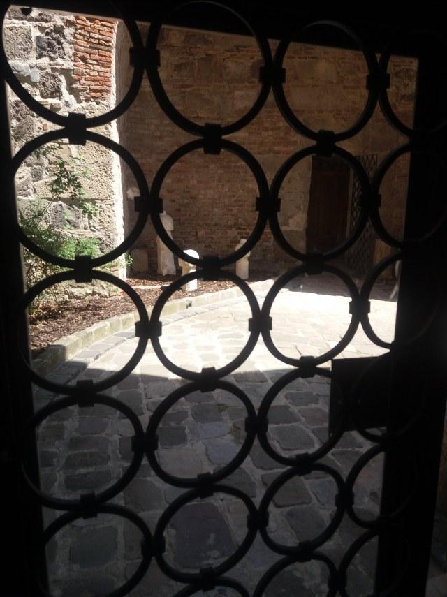 Török udvar Esztergom vármúzeum
