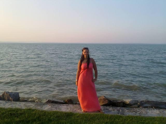 Eszti és a Balaton